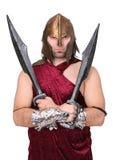 греческий воин Стоковое Изображение