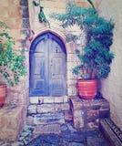 Греческий двор стоковые фото