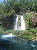 Греческий водопад Стоковая Фотография
