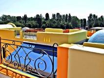 Греческий квартал на Balaton стоковое изображение rf