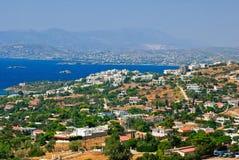 греческий курорт Стоковые Фотографии RF
