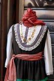 Греческий национальный костюм Стоковое Фото
