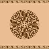 Греческий орнамент розетки и границы для дизайна стоковая фотография