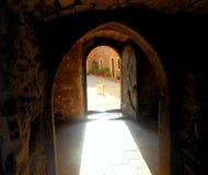 Греческий остров Крит - священный монастырь Arkadi стоковые изображения rf