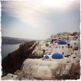 Греческий остров Santorini Стоковая Фотография
