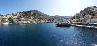 Греческий остров Symi стоковые фото