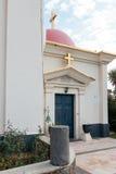 Греческий правоверный монастырь 12 апостолов в Capernaum Стоковое Изображение RF