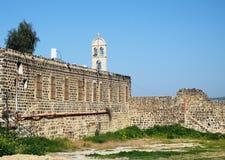 Греческий правоверный монастырь в честь 12 апостолов, Tiberi Стоковое Изображение RF