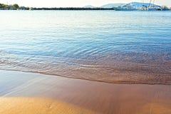 Греческий пляж Стоковые Фотографии RF