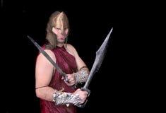 греческий ратник человека Стоковая Фотография