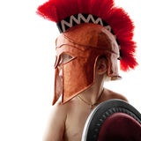 Греческий ратник Стоковое Фото