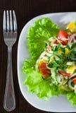греческий салат вкусный Стоковое Изображение RF