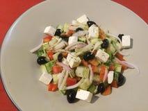 греческий салат здоровая еда классицистическо стоковые изображения rf