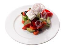 греческий салат плиты Стоковые Фотографии RF