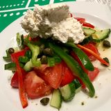 Греческий салат стоковое фото rf