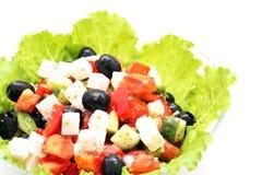 греческий салат стоковая фотография