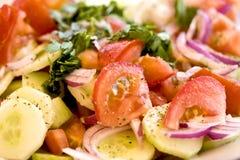 греческий салат стоковые изображения rf