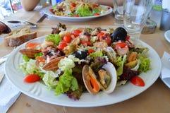 Греческий салат Крит Стоковая Фотография