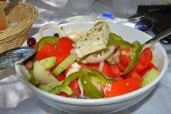 Греческий салат Крит Стоковые Фотографии RF