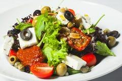 греческий салат плиты Стоковые Фото