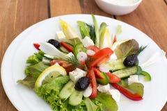 Греческий салат Стоковые Фотографии RF