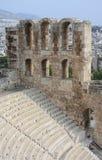 греческий старый театр стоковые изображения