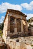 Греческий старый тезаурус стоковая фотография