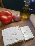 Греческий сыр feta Стоковое фото RF