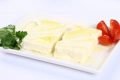 Греческий сыр feta Стоковые Фотографии RF