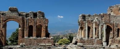 греческий театр стоковая фотография rf