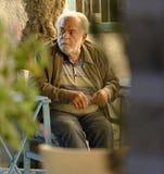 Греческий человек стоковые фотографии rf