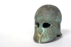 греческий шлем Стоковое Изображение RF
