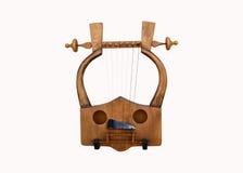 Греческое изолированное lyra стоковые изображения