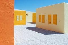 Греческое село стоковые фотографии rf