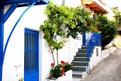 греческое село Стоковое Изображение RF