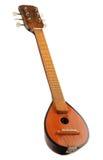 Греческое bouzouki музыкальной аппаратуры на белизне Стоковые Изображения RF