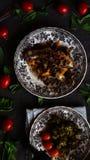 греческое moussaka стоковое фото rf