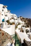 греческое santorini острова Стоковые Изображения