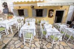 греческое taverna типичное Стоковое Фото