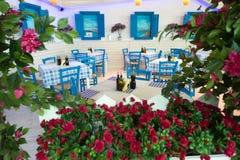 греческое taverna традиционное Стоковые Изображения RF