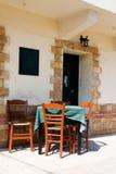 греческое taverna Стоковые Изображения RF