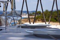 греческое taverna Стоковая Фотография