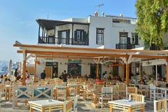 греческое taverna Стоковое фото RF