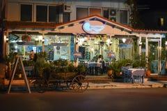 греческое taverna Стоковые Фото