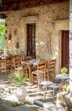 греческое taverna Стоковая Фотография RF