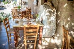 греческое taverna Стоковое Изображение RF