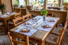 греческое taverna Стоковое Изображение