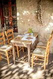 греческое taverna Стоковое Фото
