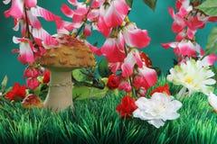 грибы искусственних цветков Стоковое Изображение RF