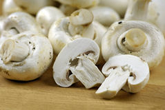грибы кнопки Стоковая Фотография